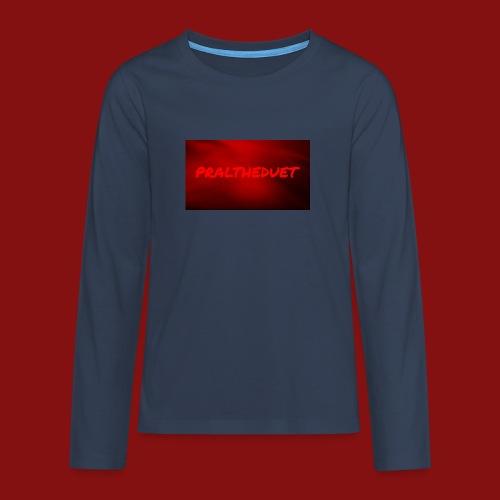 My Post 6 - Långärmad premium T-shirt tonåring