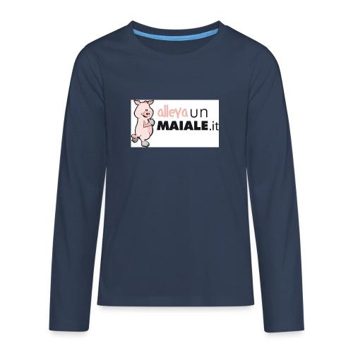 Coulotte donna allevaunmaiale.it - Maglietta Premium a manica lunga per teenager