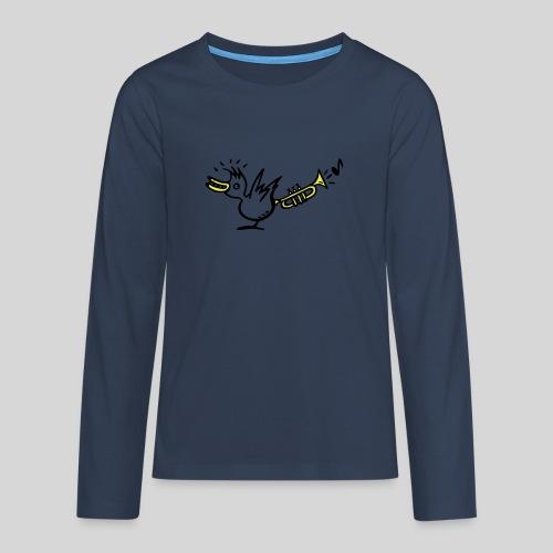 trompetenvogel - Teenager Premium Langarmshirt