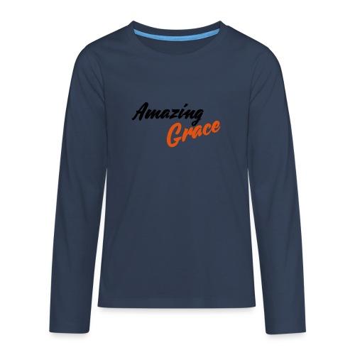 amazing grace - T-shirt manches longues Premium Ado