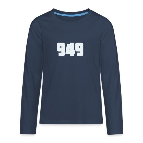 949withe - Teenager Premium Langarmshirt