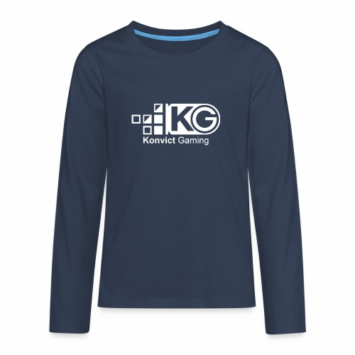 clear large - Teenagers' Premium Longsleeve Shirt