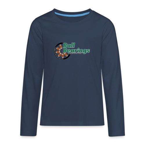 BB DJK Abteilungslogo Large png - Teenager Premium Langarmshirt