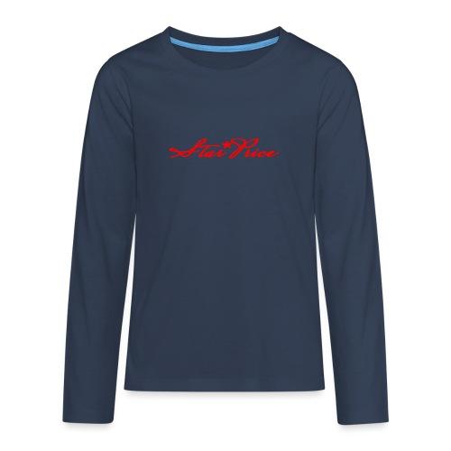 star price (red) - Teenagers' Premium Longsleeve Shirt