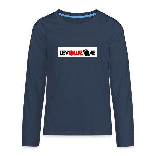 logoHD - Teenagers' Premium Longsleeve Shirt