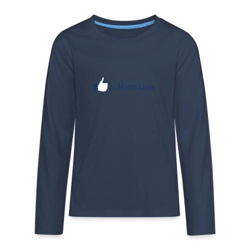 like nobg - Teenagers' Premium Longsleeve Shirt