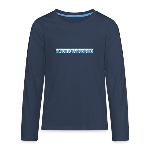 2-png - Koszulka Premium z długim rękawem dla nastolatków