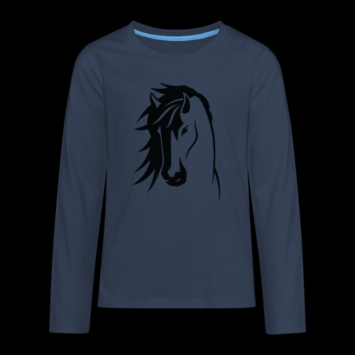 Stallion - Teenagers' Premium Longsleeve Shirt