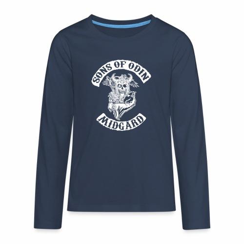 Sons of odin - Camiseta de manga larga premium adolescente
