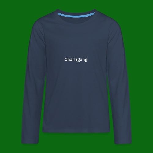 Charlzgang - Teenagers' Premium Longsleeve Shirt