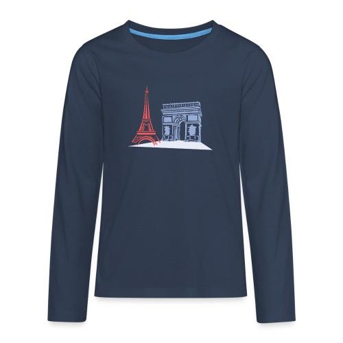 Paris - T-shirt manches longues Premium Ado