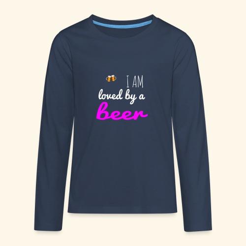 Birra Beer - Maglietta Premium a manica lunga per teenager