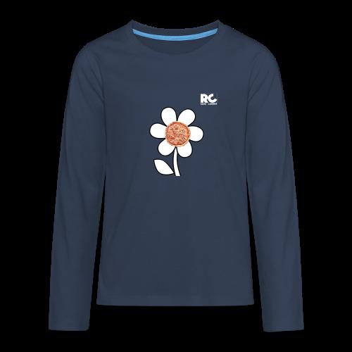 Pizzaflower Edition - Teenager Premium Langarmshirt