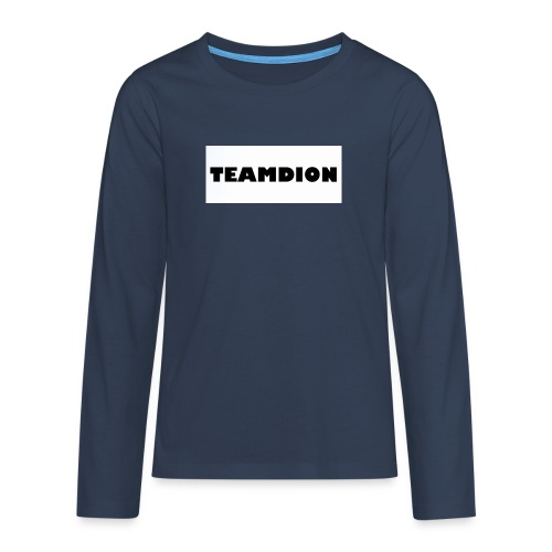 25258A83 2ACA 487A AC42 1946E7CDE8D2 - Teenagers' Premium Longsleeve Shirt