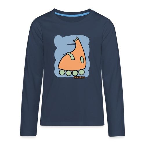 Patin Warhol 4 - Camiseta de manga larga premium adolescente