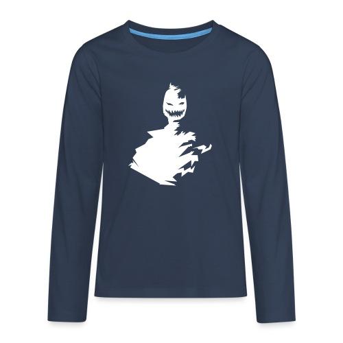 t-shirt monster (white/weiß) - Teenager Premium Langarmshirt