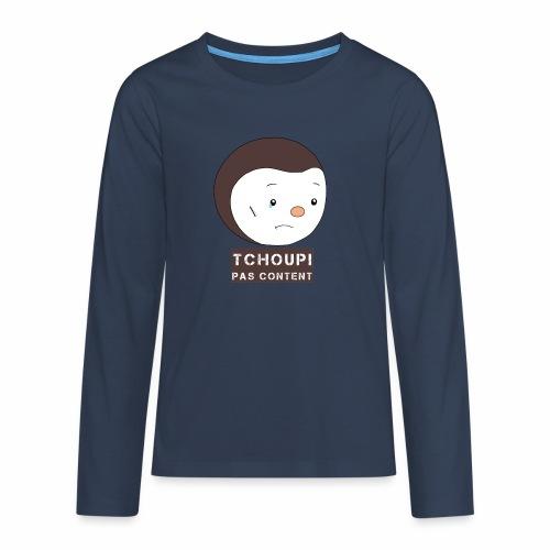 Tchoupi pas content ! - T-shirt manches longues Premium Ado