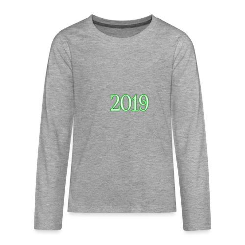 2019 - Teenagers' Premium Longsleeve Shirt