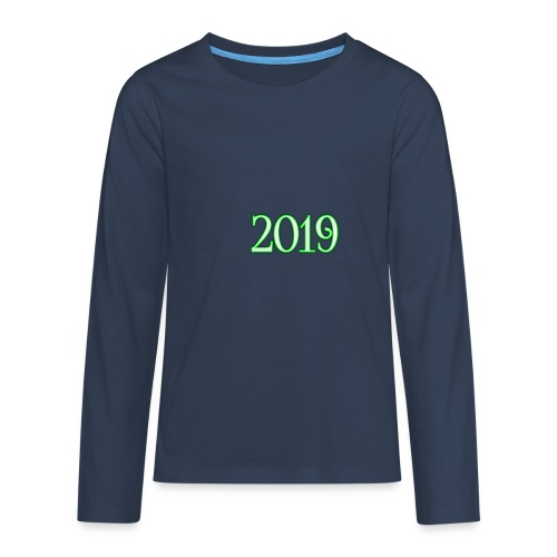 2019 - Teenagers' Premium Longsleeve Shirt