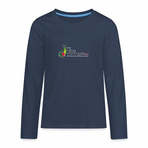 NicePortugal.com Logo - Maglietta Premium a manica lunga per teenager