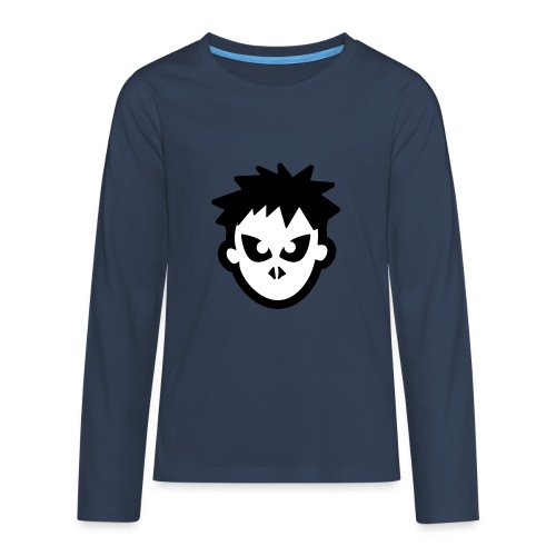 Sorskoot Head - Teenagers' Premium Longsleeve Shirt