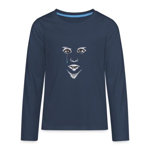 Blue tear - T-shirt manches longues Premium Ado