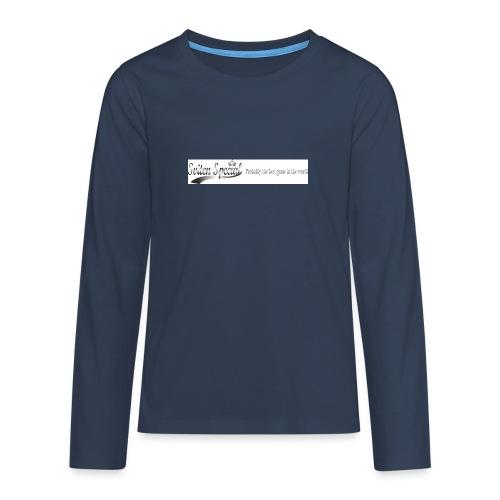 probably - Långärmad premium T-shirt tonåring
