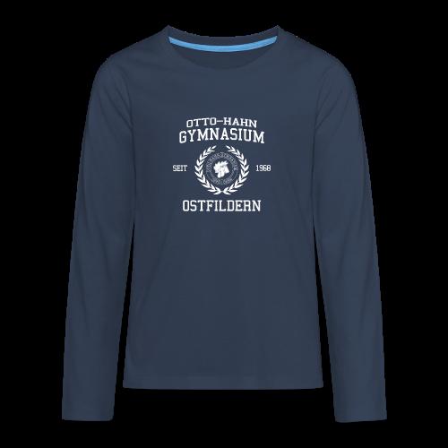 CLASSIC DESIGN - Teenager Premium Langarmshirt