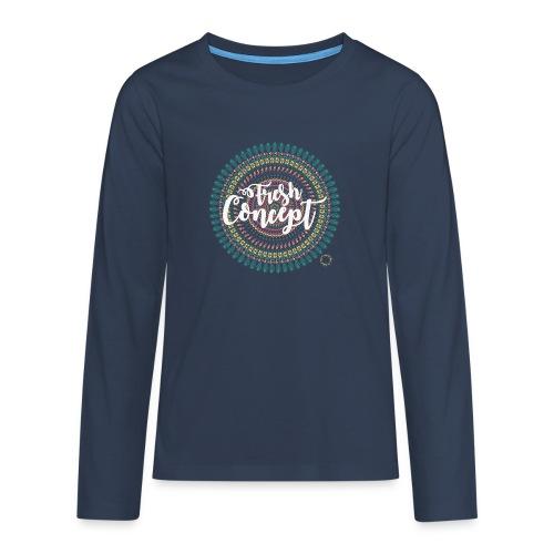 Fresh Concept Mandala - T-shirt manches longues Premium Ado