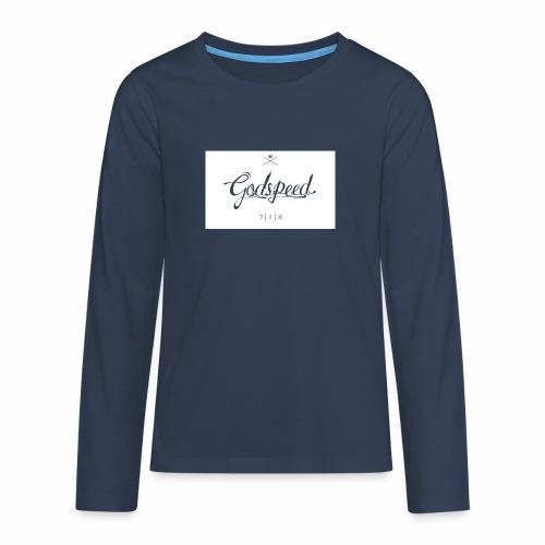 godspeed - Teinien premium pitkähihainen t-paita