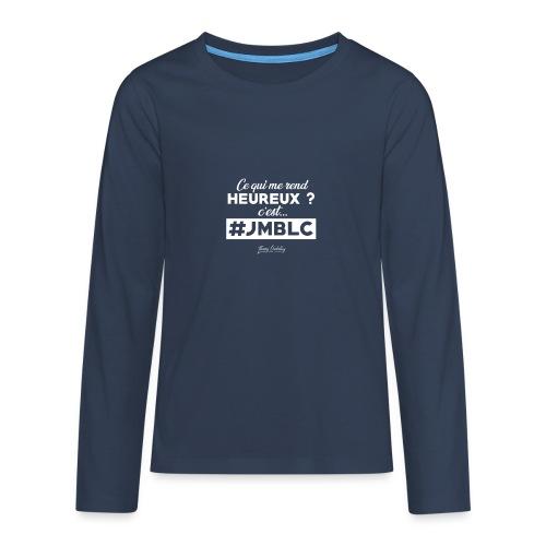 Ce qui me rend heureux c'est ... - T-shirt manches longues Premium Ado