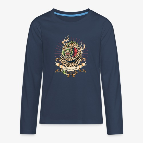 Drachengeist - Teenager Premium Langarmshirt