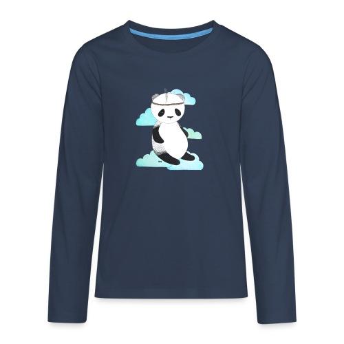 pandabeer - Teenager Premium shirt met lange mouwen
