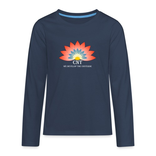 Support Renewable Energy with CNT to live green! - Teenagers' Premium Longsleeve Shirt