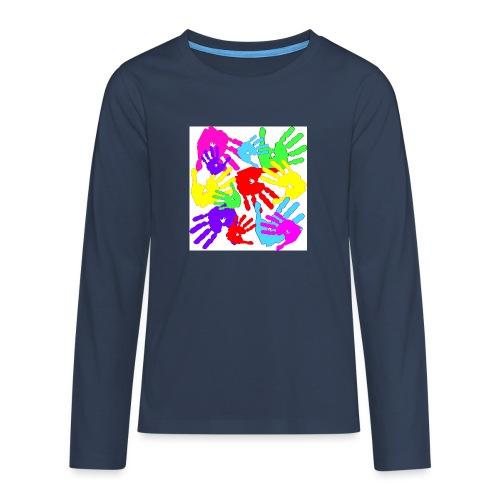 pastrocchio2 - Maglietta Premium a manica lunga per teenager