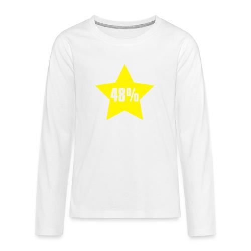 48% in Star - Teenagers' Premium Longsleeve Shirt