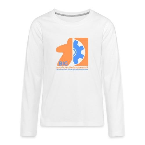 BIG - Maglietta Premium a manica lunga per teenager