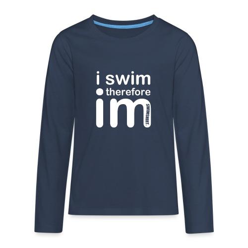 im w png - Teenagers' Premium Longsleeve Shirt