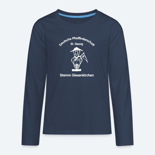 Logo_DPSG_Stamm_Giesenkir - Teenager Premium Langarmshirt