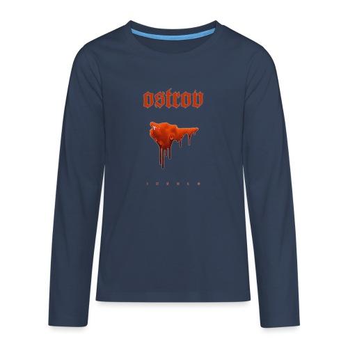 ostrov red - Koszulka Premium z długim rękawem dla nastolatków