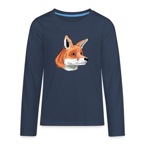Fuchs - Teenager Premium Langarmshirt