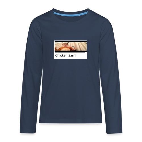 chicken sarni - Teenagers' Premium Longsleeve Shirt