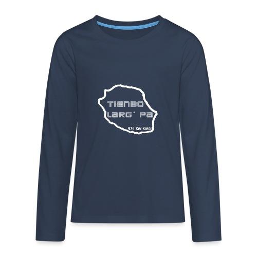 Tienbo larg pa - T-shirt manches longues Premium Ado