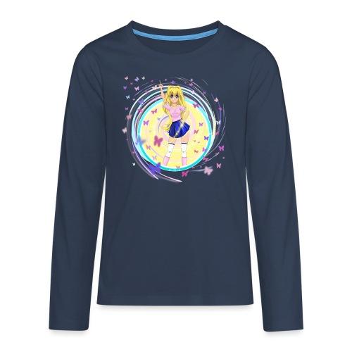Mindy Butterfly - Teenagers' Premium Longsleeve Shirt