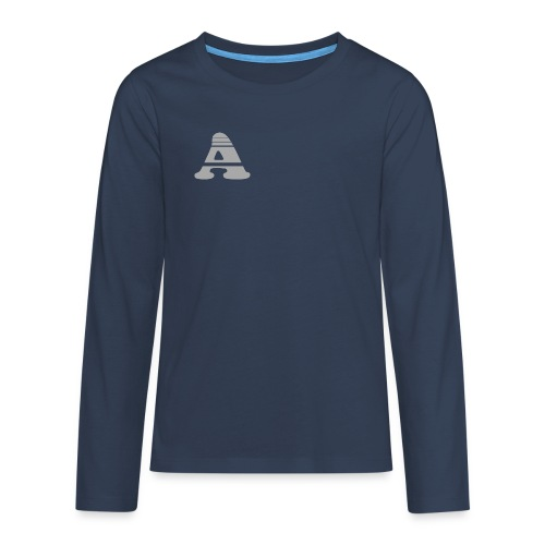 Achil+streepjes - Teenager Premium shirt met lange mouwen