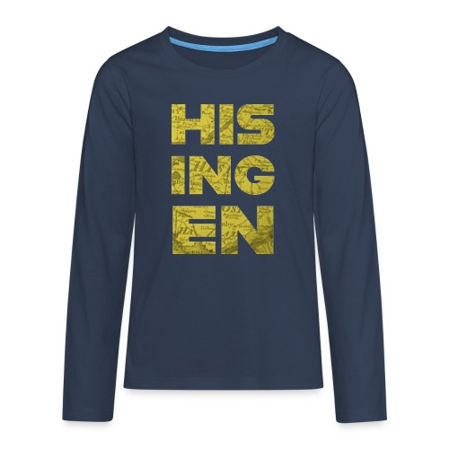 Hisingens Karta - Långärmad premium T-shirt tonåring