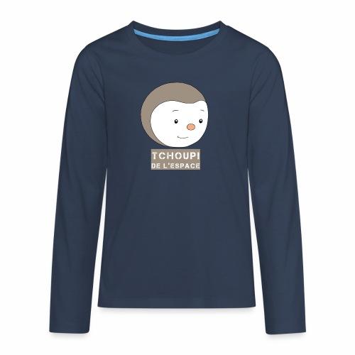 Tchoupi de l'Espace ! - T-shirt manches longues Premium Ado