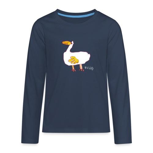 Ollie's Duck - Teenagers' Premium Longsleeve Shirt