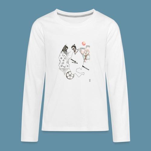 Samurai copia jpg - Maglietta Premium a manica lunga per teenager