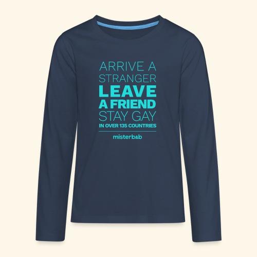misterb&b - T-shirt manches longues Premium Ado